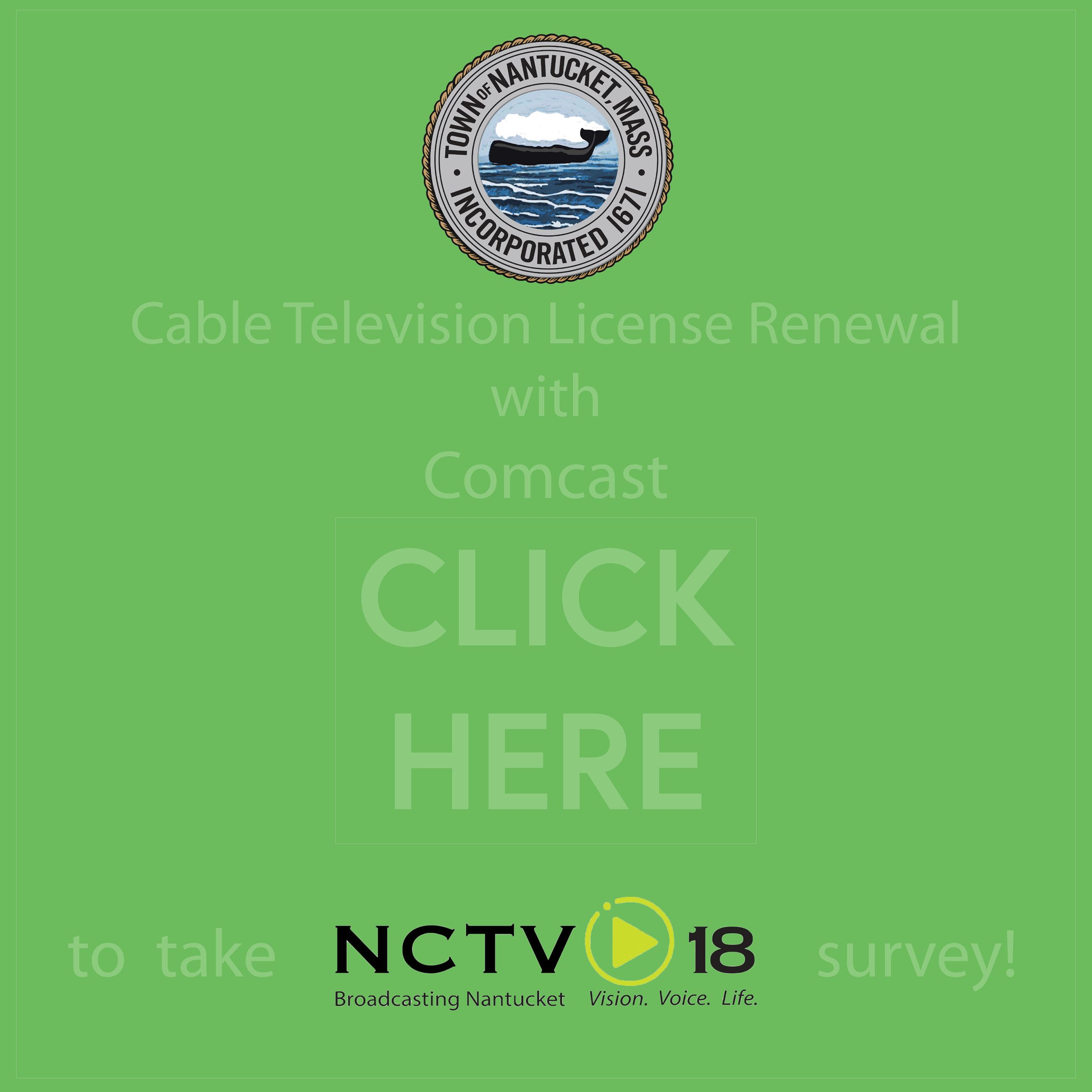 Cable Television License Renewal with Comcast