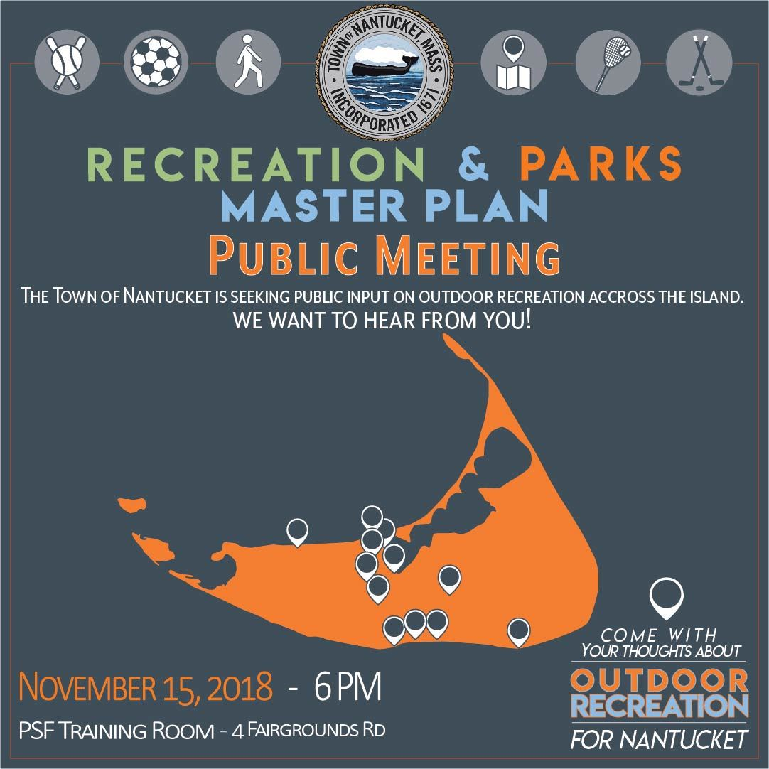 Parks & Recreation Forum 11152018