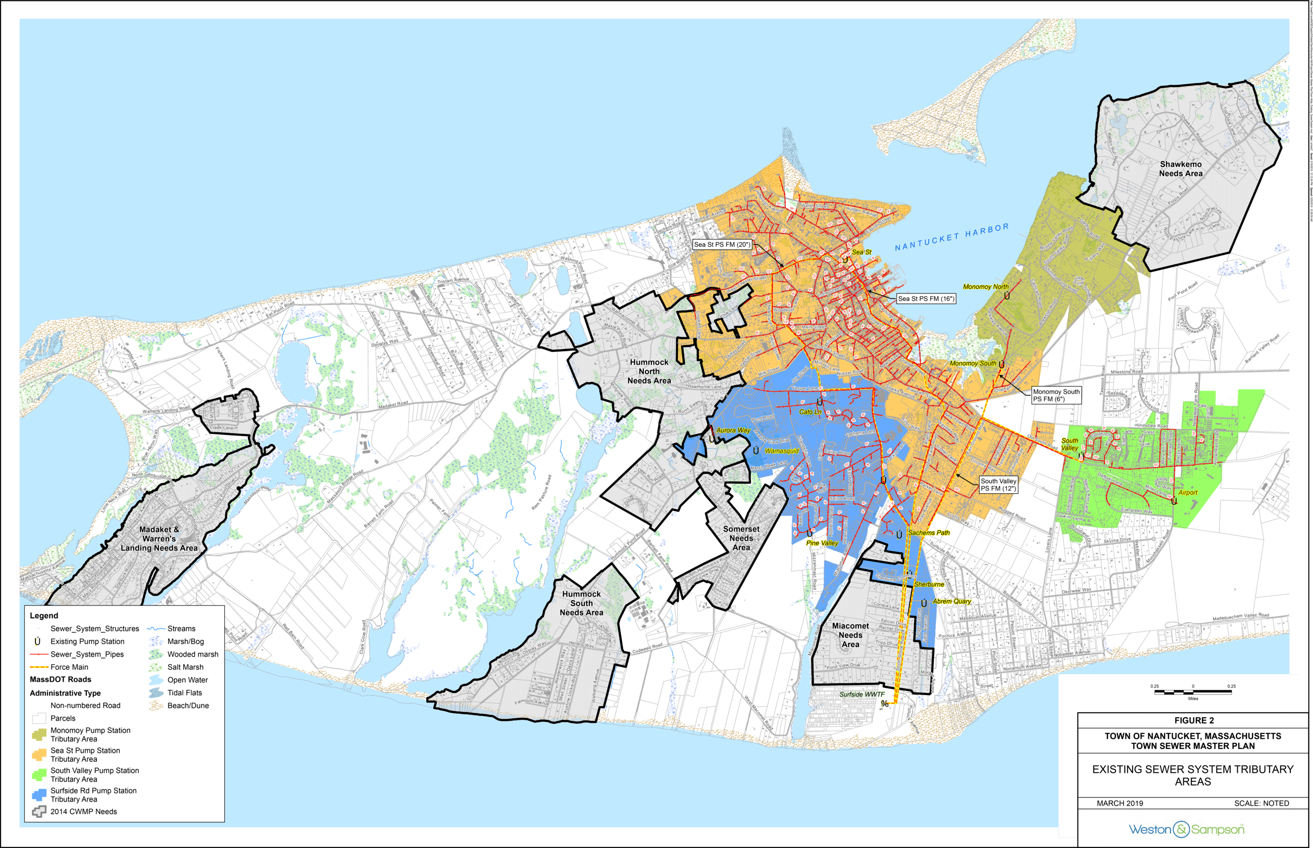 Sewer Master Plan Map